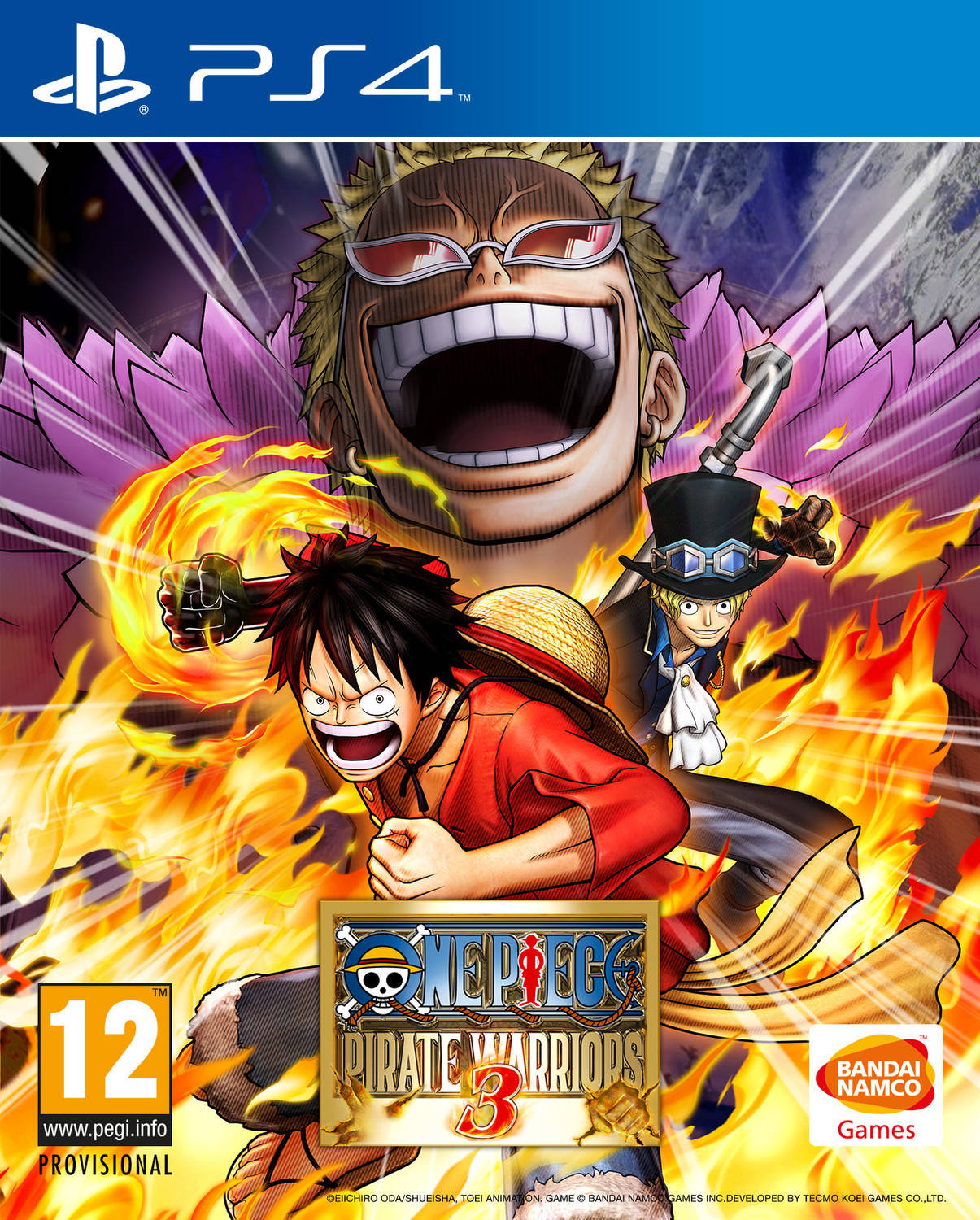 One Piece Pirate Warriors 3 Playstation 4 Ps4 Game Sony Burning Blood
