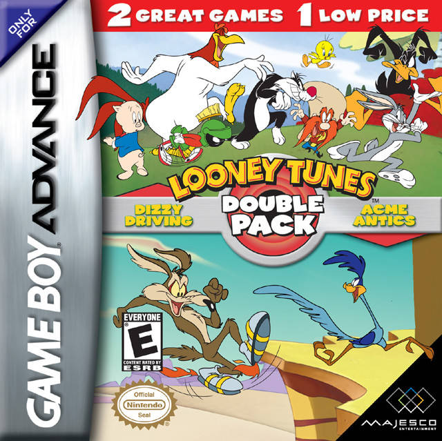 Looney tunes double pack dizzy driving acme antics game boy looney tunes double pack dizzy driving acme antics game boy advance voltagebd Images