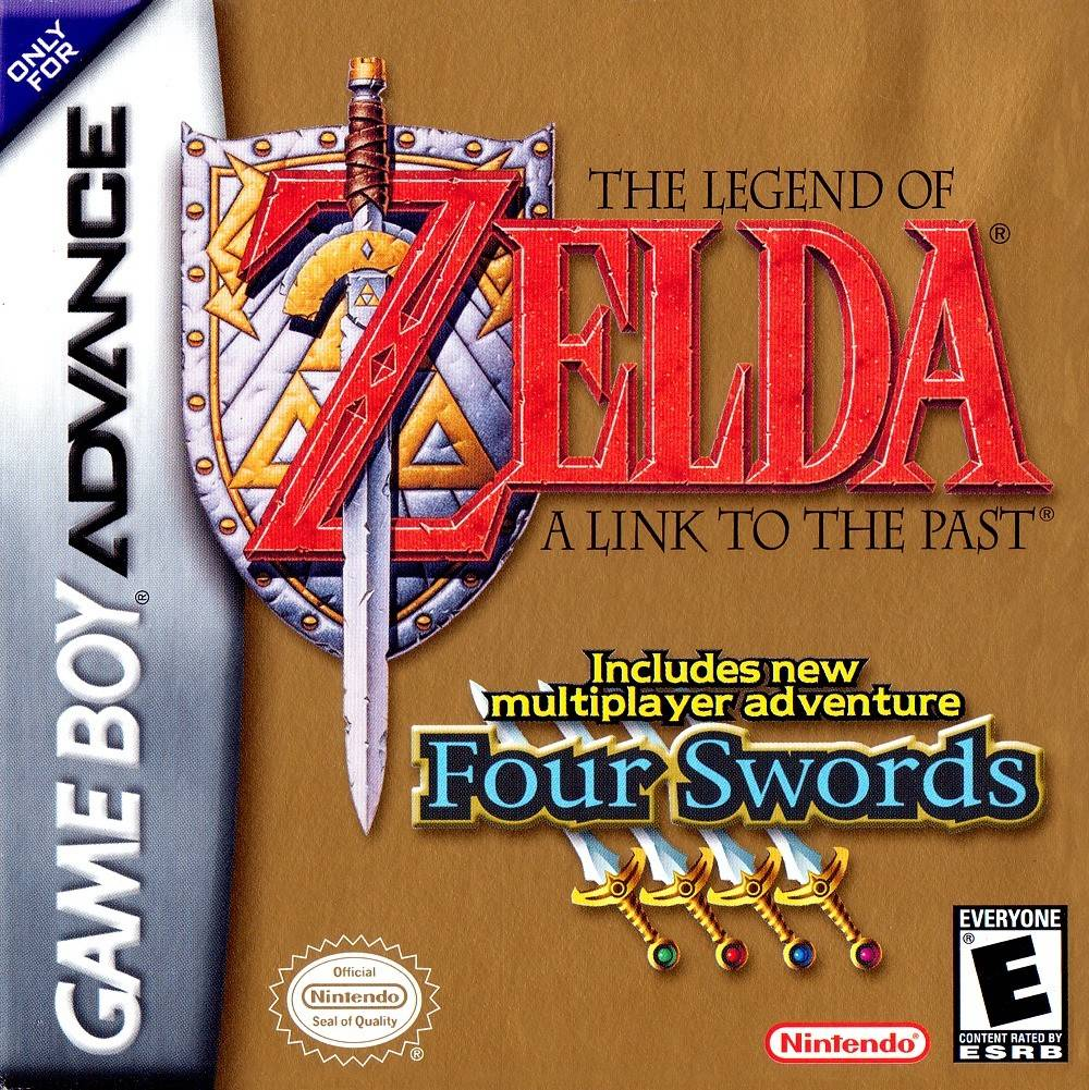 The Legend of Zelda: A Link to the Past - Game Boy Advance