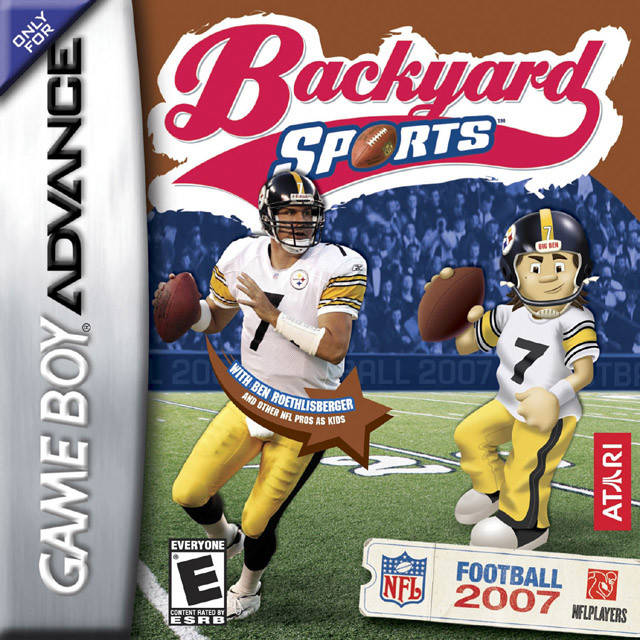 Backyard Football Video Game backyard sports: football 2007 - game boy advance