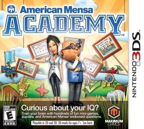 American Mensa Academy - Nintendo 3DS game