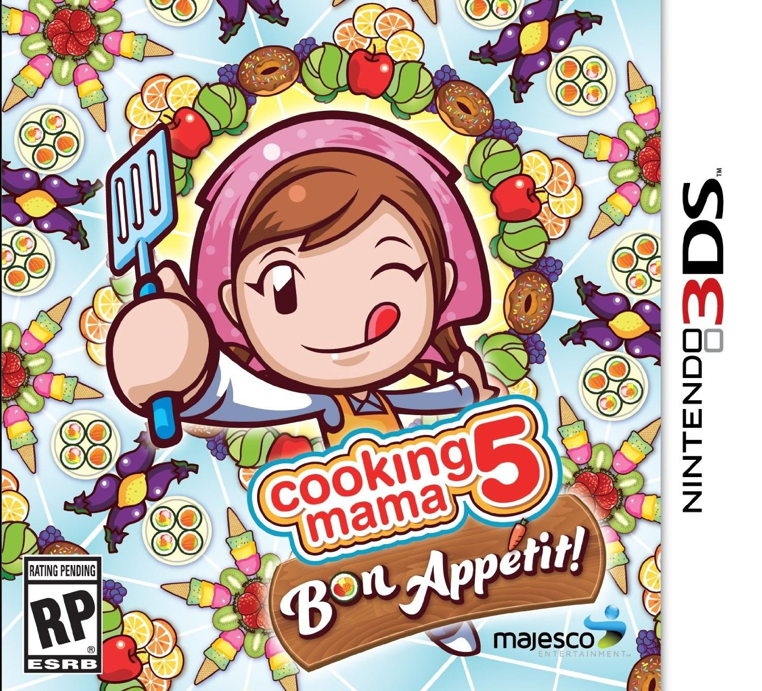 Cooking Mama 5 Bon Appetit Nintendo 3ds Game