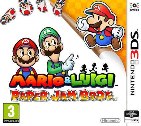 Mario & Luigi: Paper Jam Bros  - Nintendo 3DS game