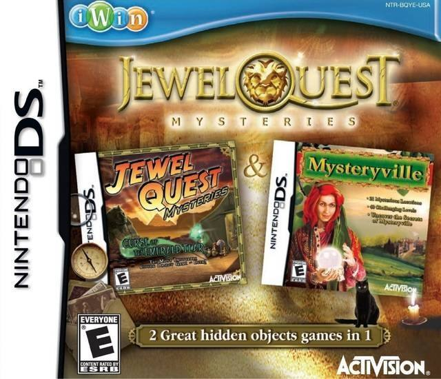 Jewel Quest Mysteries - Nintendo DS game