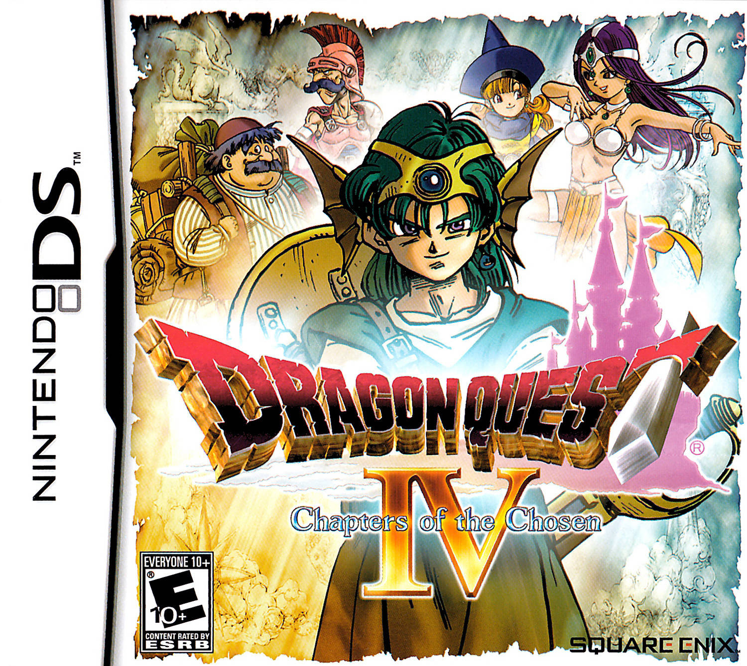 Dragon Quest IV: Chapters of the Chosen - Nintendo DS game
