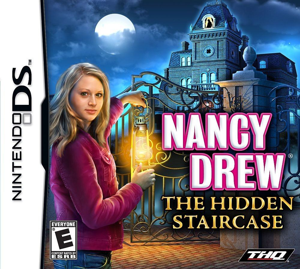 Nancy Drew: The Hidden Staircase   Nintendo DS Game