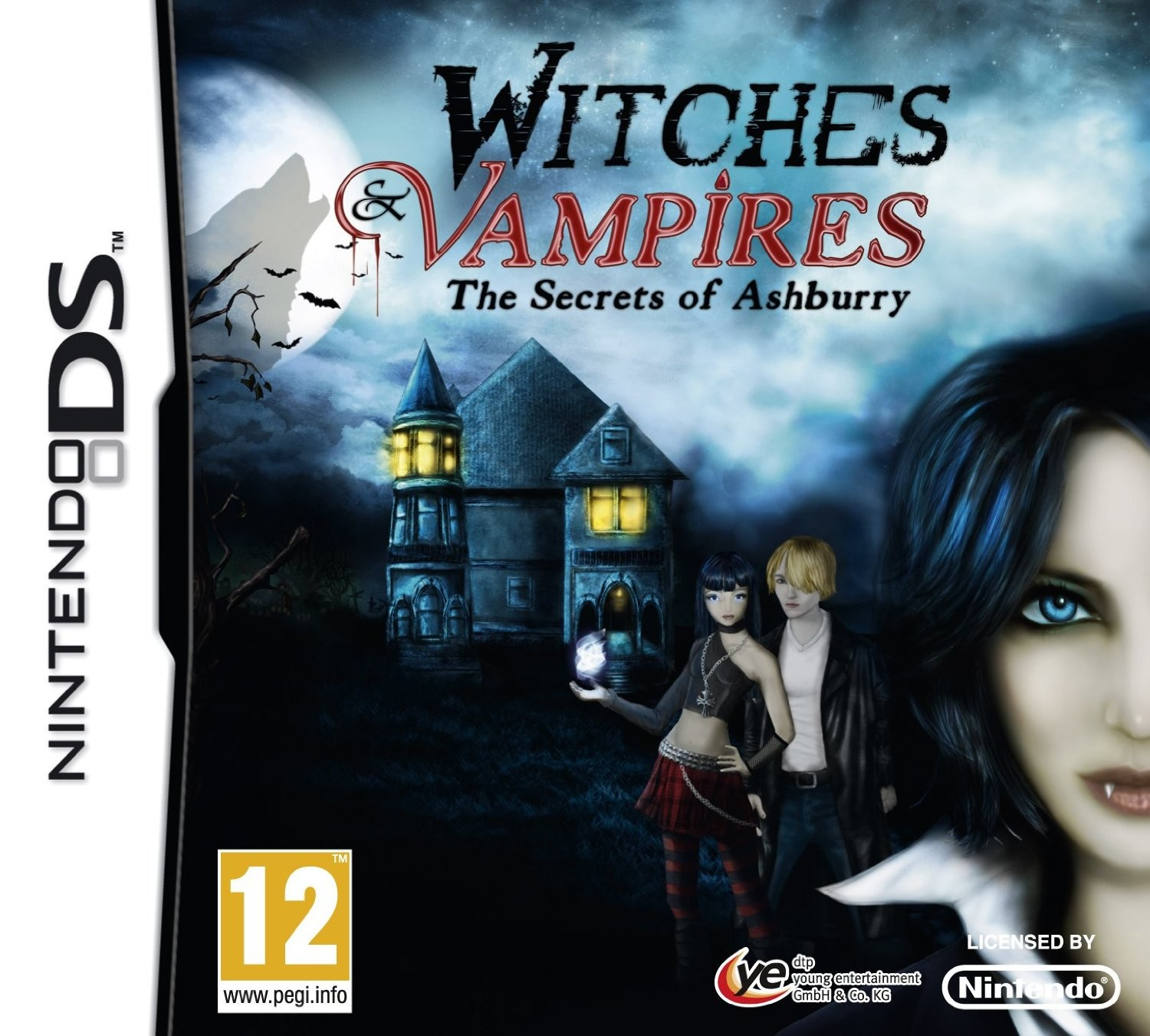 Witches & Vampires The Secrets Of Ashburry - Nintendo DS game