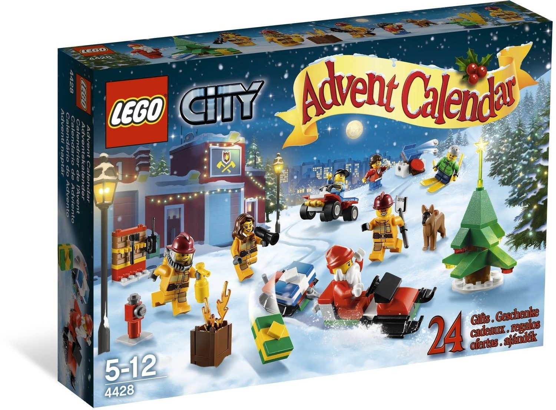 Lego Weihnachtskalender 2019.City Advent Calendar Lego City Set 4428