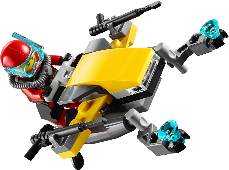 Deep Sea Scuba Scooter (60090). LEGO CITY