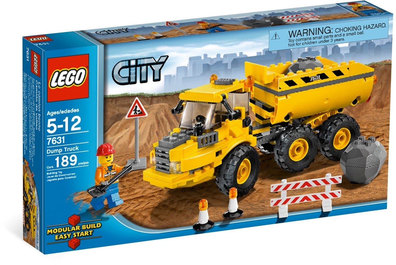 dump truck lego city set 7631