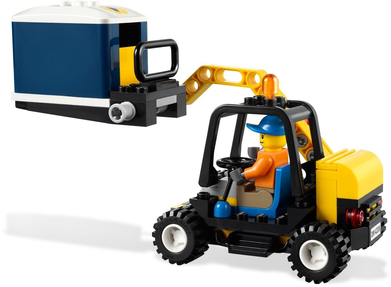 Lego City Garage : Recycling truck lego city set