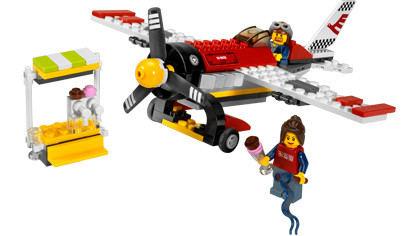 Lego City Garage : Air show plane lego city set