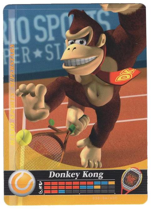 Mario Sports Superstars Cards - Amiibo checklist