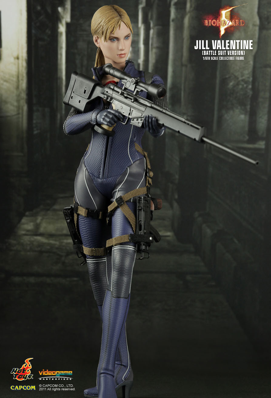 Jill Valentine Other Hot Toys Series Action Figure Vgm13