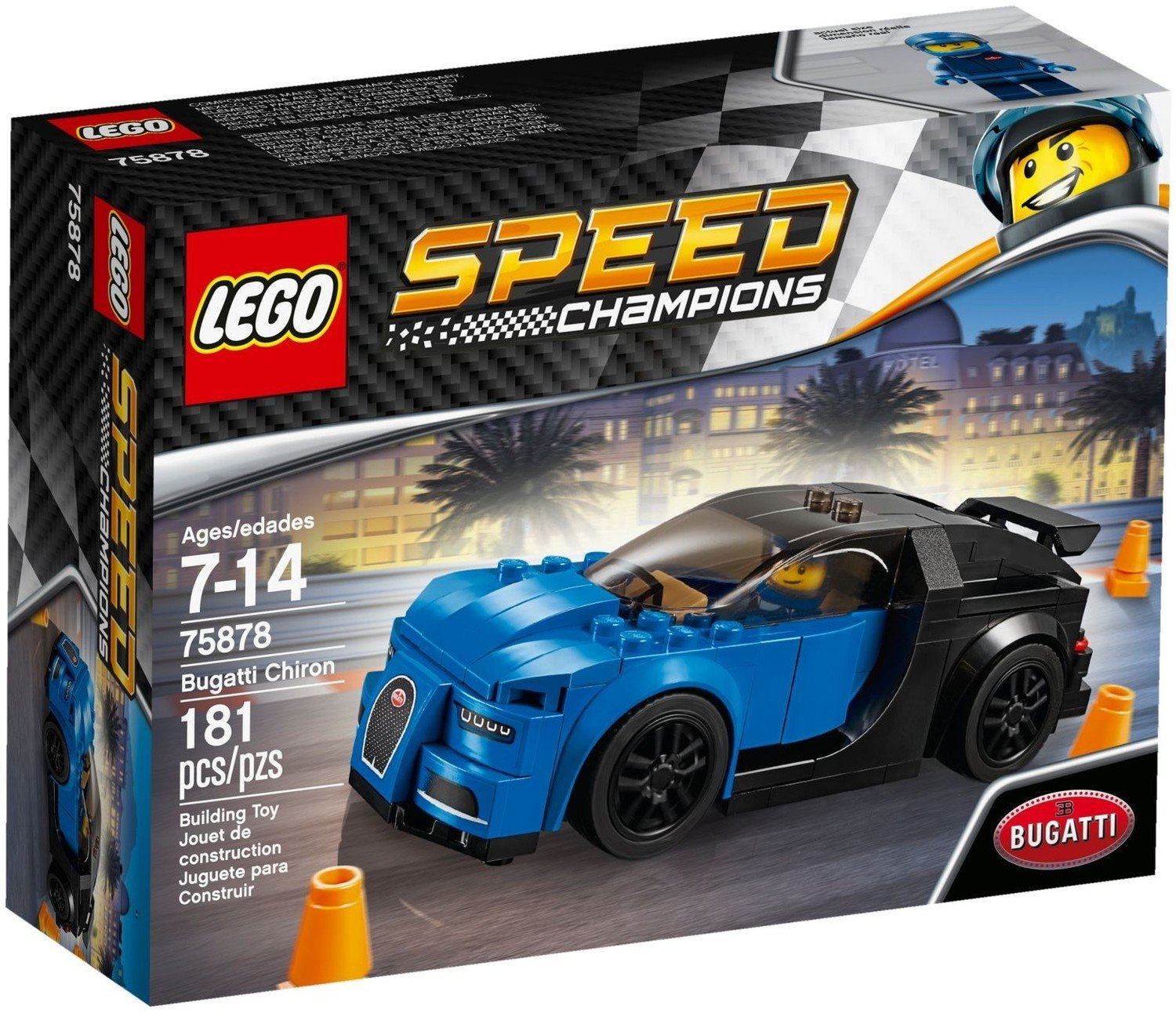 coupon codes for whole family arrives Bugatti Chiron - LEGO Speed Champions set 75878