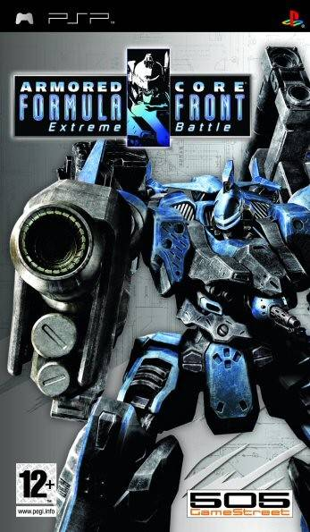 Armored Core Formula Front Extreme Battle Playstation Portable Psp Game