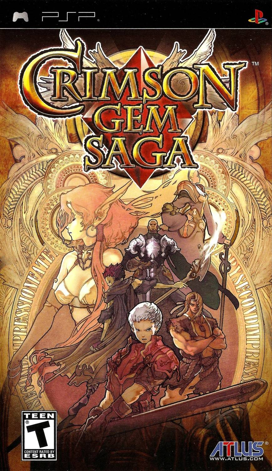 Crimson Gem Saga Playstation Portable Psp Game