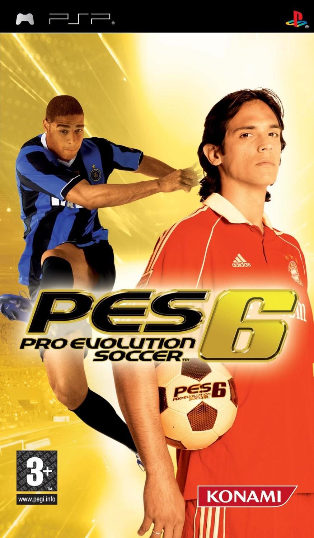 Pro Evolution Soccer 6 - PlayStation Portable: PSP game