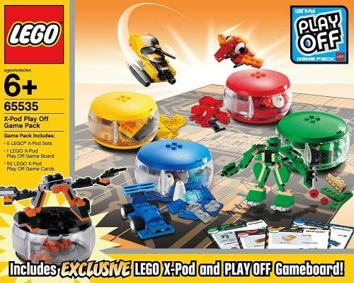 X-Pod Play Off Game Pack - LEGO Creator set 65535