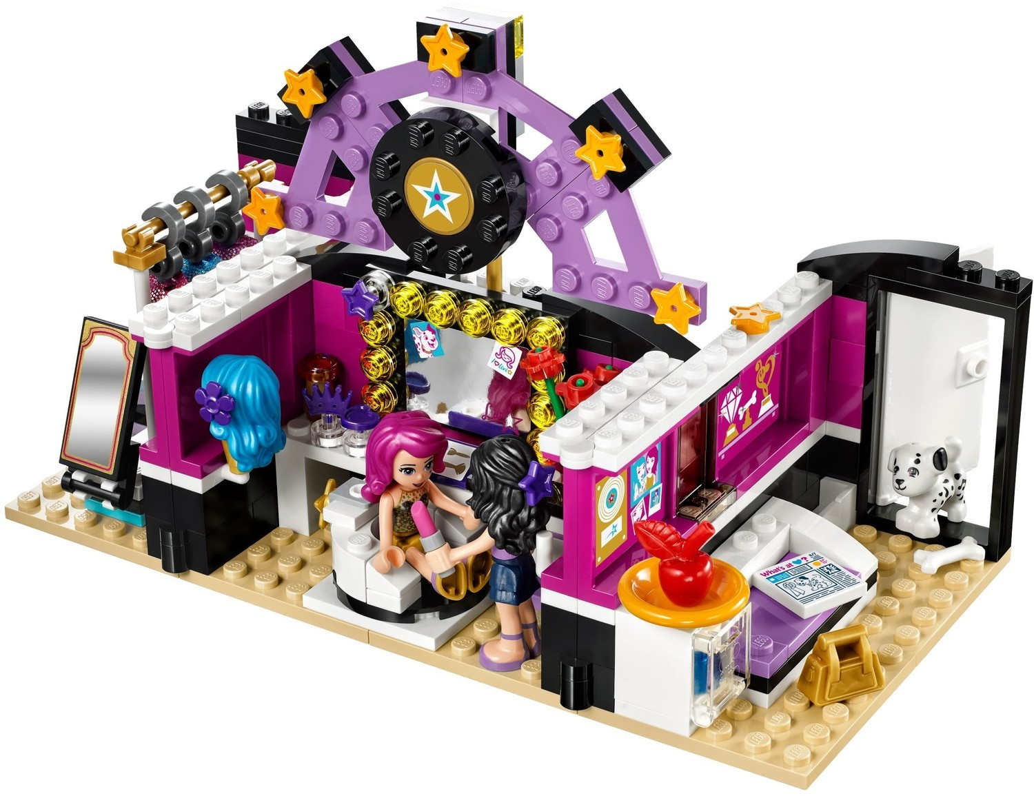 lego friends popstar limo instructions
