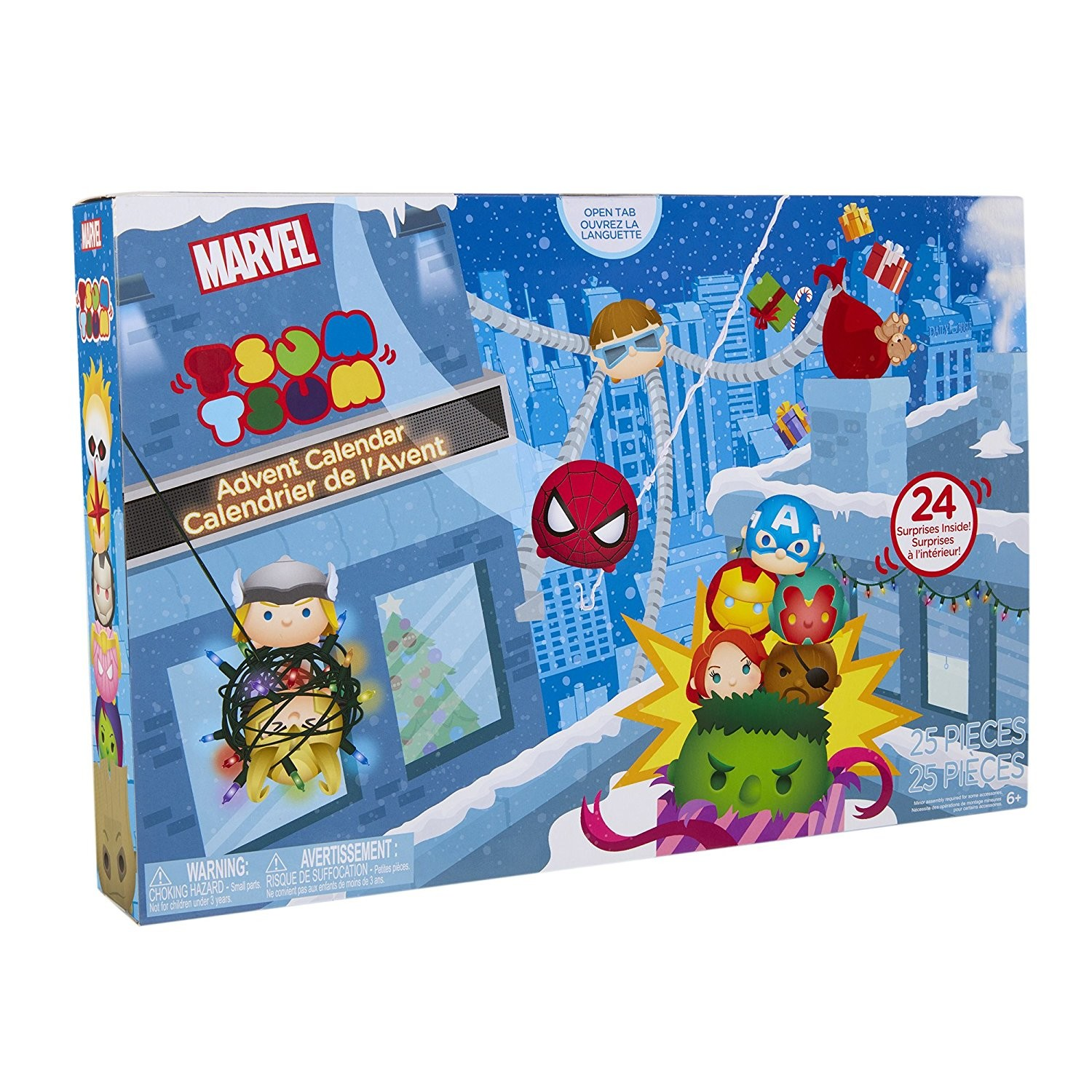 Marvel Calendrier.Marvel Calendrier De L Avent Countdown To Christmas 2017