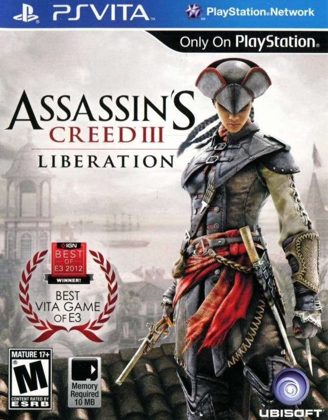 Assassin S Creed Iii Liberation Playstation Ps Vita Game