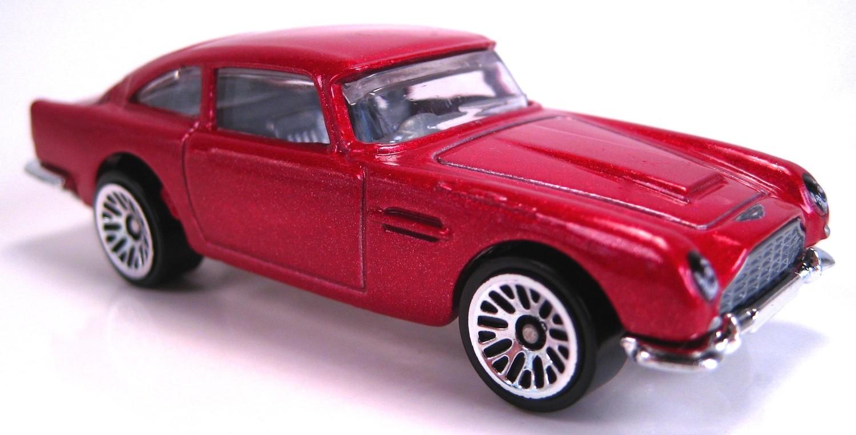 Aston Martin 1963 Db5 Classic Hot Wheels Model Dhr16