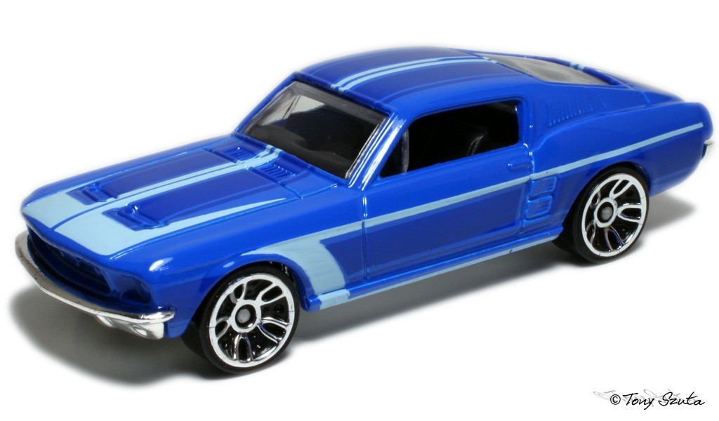 1967 custom mustang - hot wheels model r7520