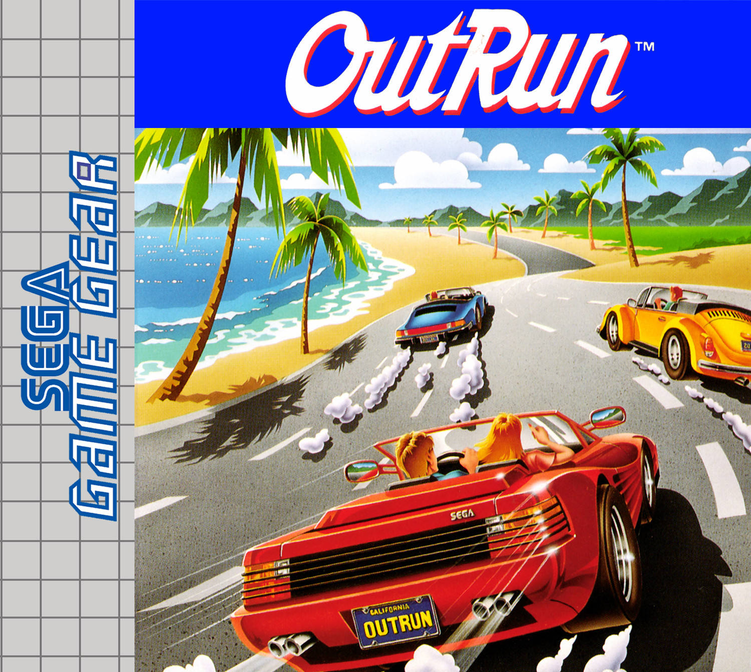 OutRun - SEGA Game Gear