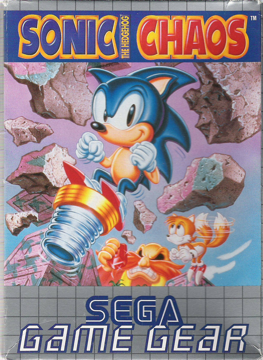 Sonic The Hedgehog Chaos Sega Game Gear