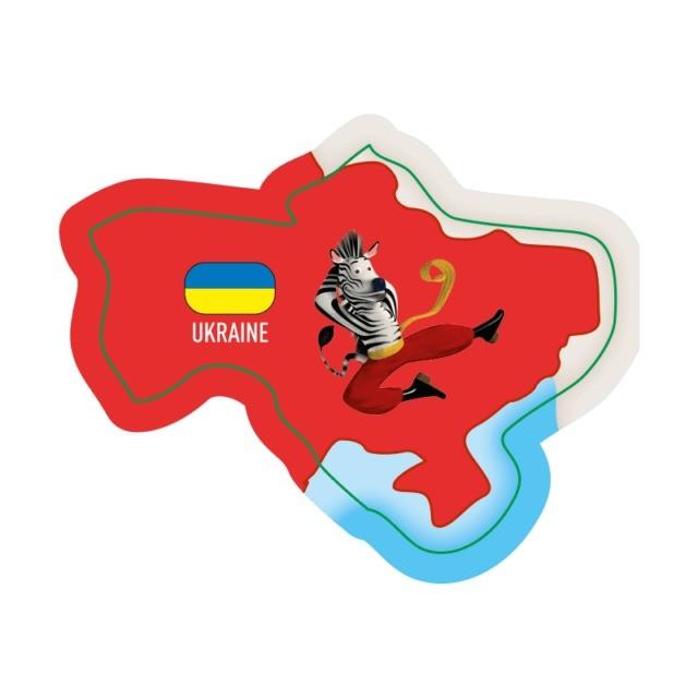 Carte Europe Brossard.L Ukraine Objet Magnets Brossard Europe