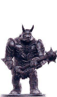 Figurine métal Collection Eaglemoss Seigneur Anneaux Troll de la catapulte