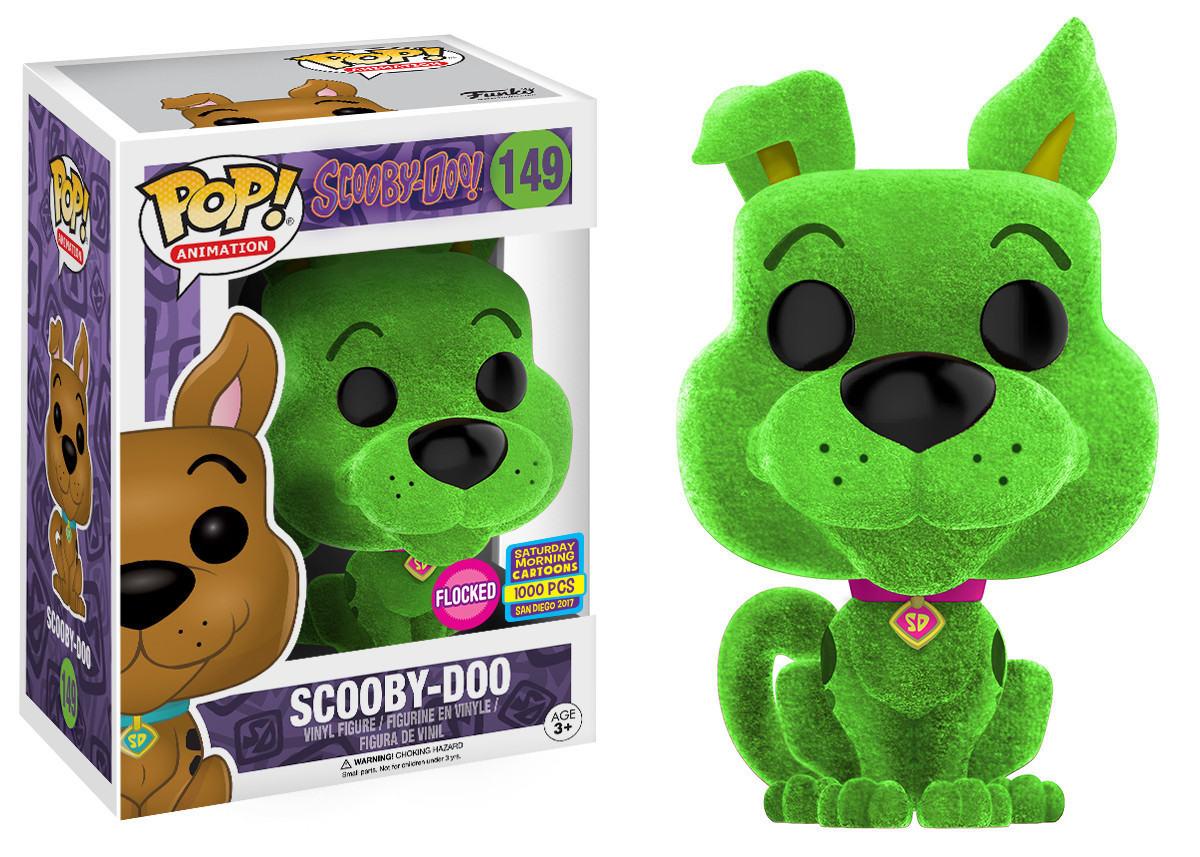 scooby doo scooby doo green flocked pop animation action figure 149 - Dessin Anim Scooby Doo