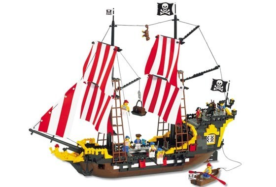 Black Seas Barracuda - LEGO Pirates set 6285