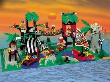 Enchanted Island Lego Pirates Set 6292
