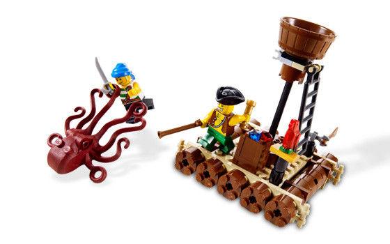 6240 Attackin' Pirates Pirates Attackin' Kraken Kraken Lego Lego 6240 EH9IW2YD
