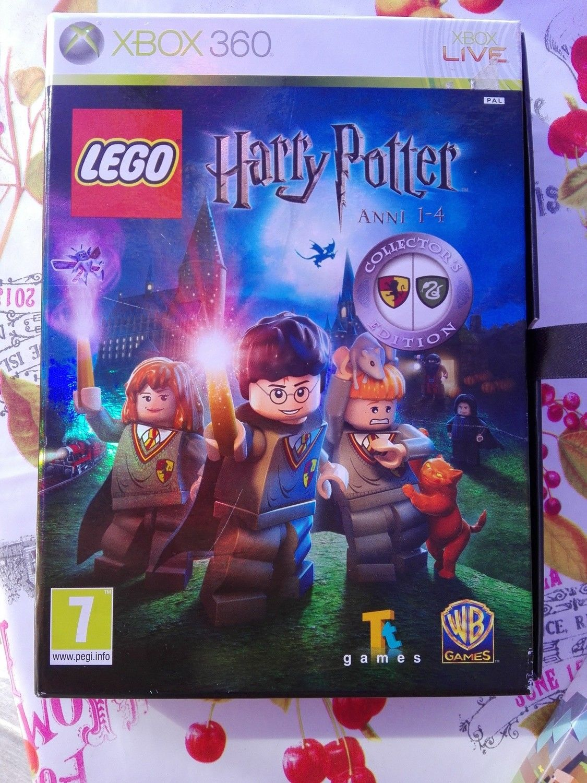 LEGO HARRY POTTER anni 1-4 collectors edition - Xbox 360 game