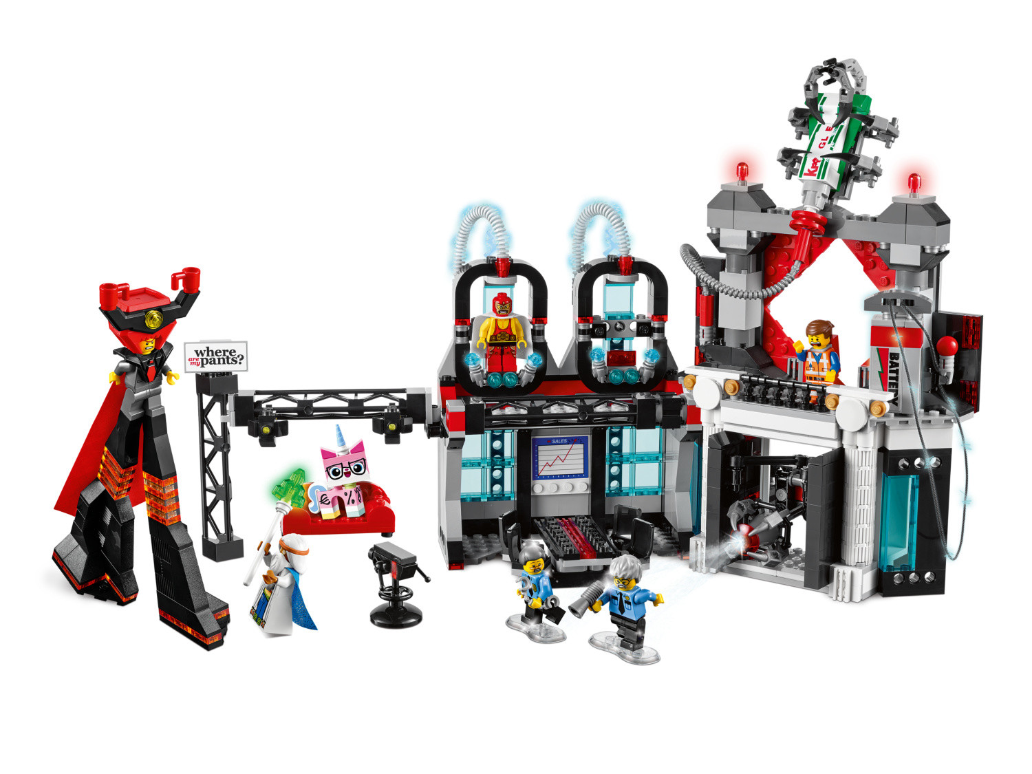 Lord Business Evil Lair Lego The Lego Movie Set 70809