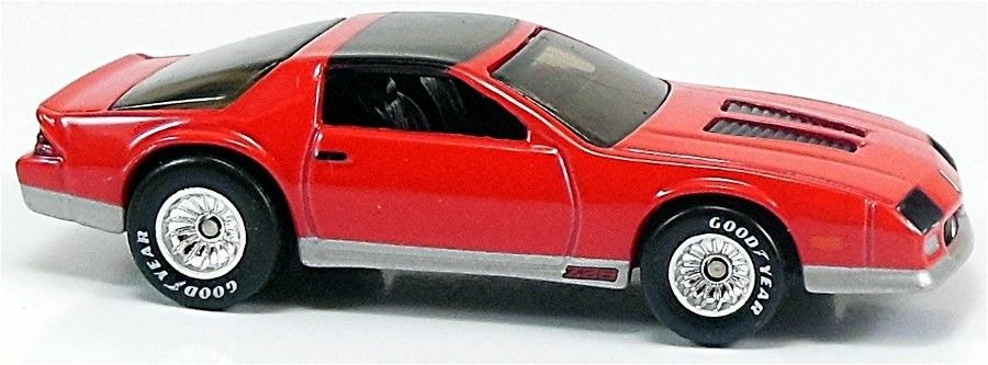 1985 Chevrolet Camaro IROC-Z - Classic Hot Wheels model