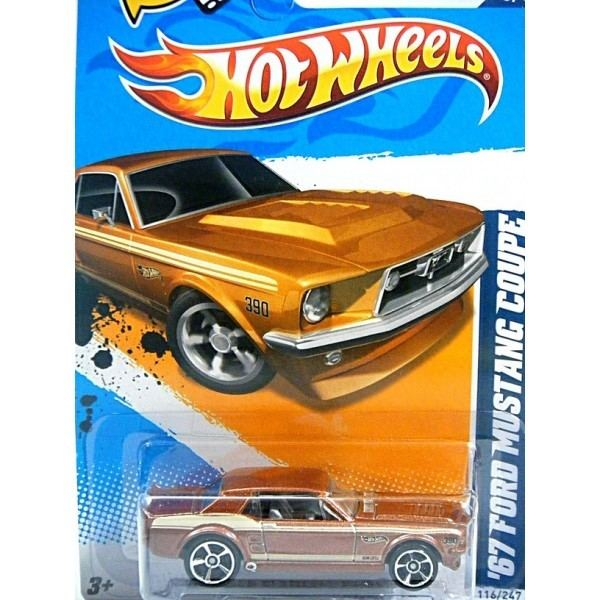 ford 67 ford mustang coupe hot wheels model - Voitures Hot Wheels
