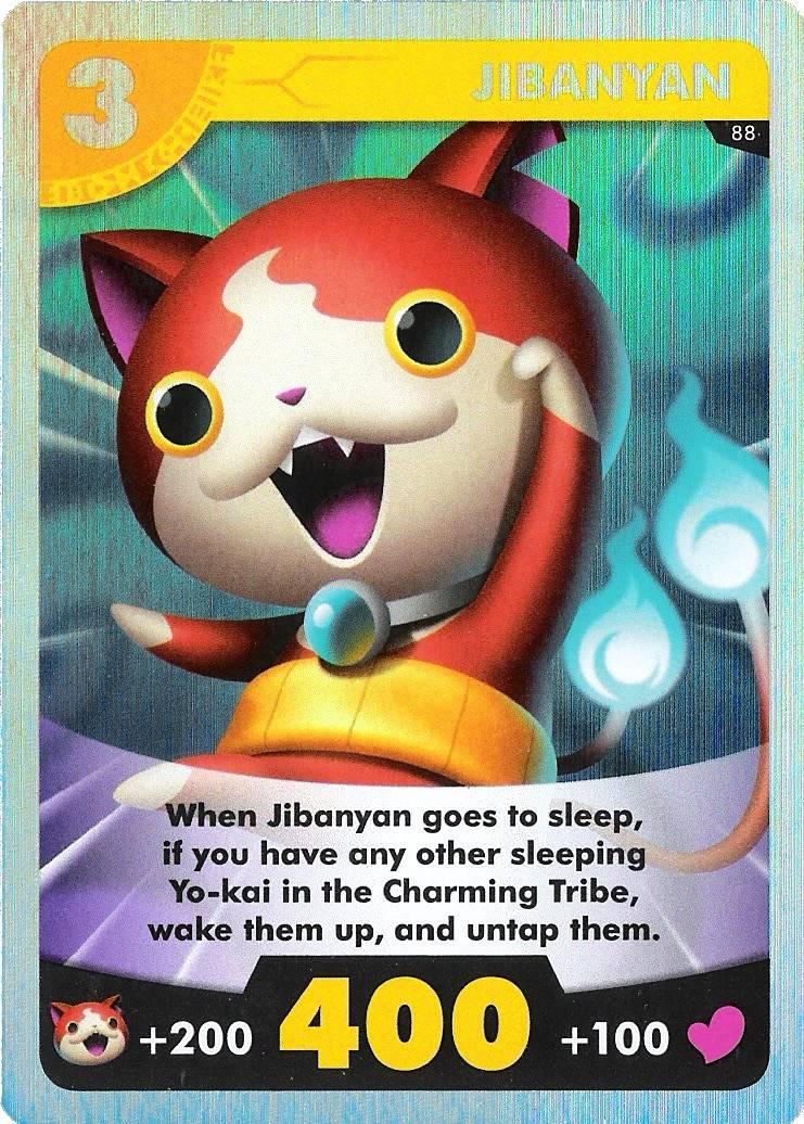jibanyan yo kai watch card game 088