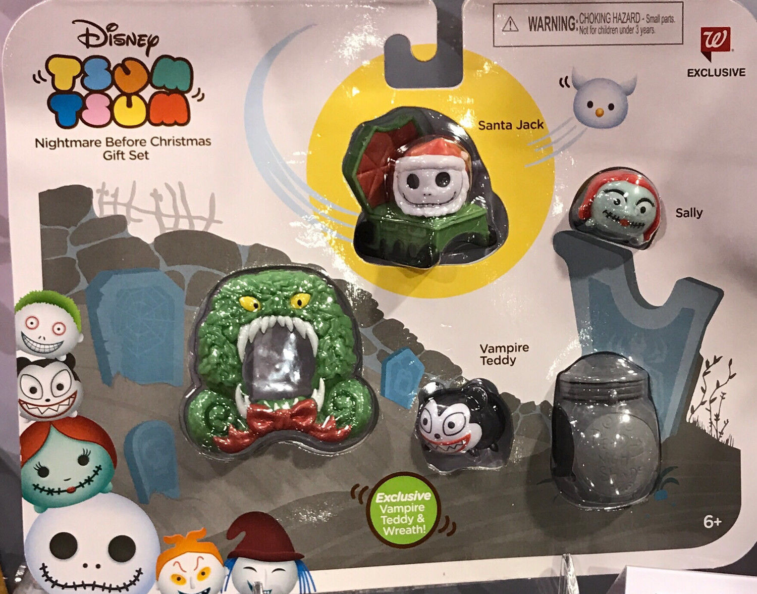 walgreens exclusive nightmare before christmas tsum tsum set 2017 tsum tsum jakks pacific exclusive and sets action figure