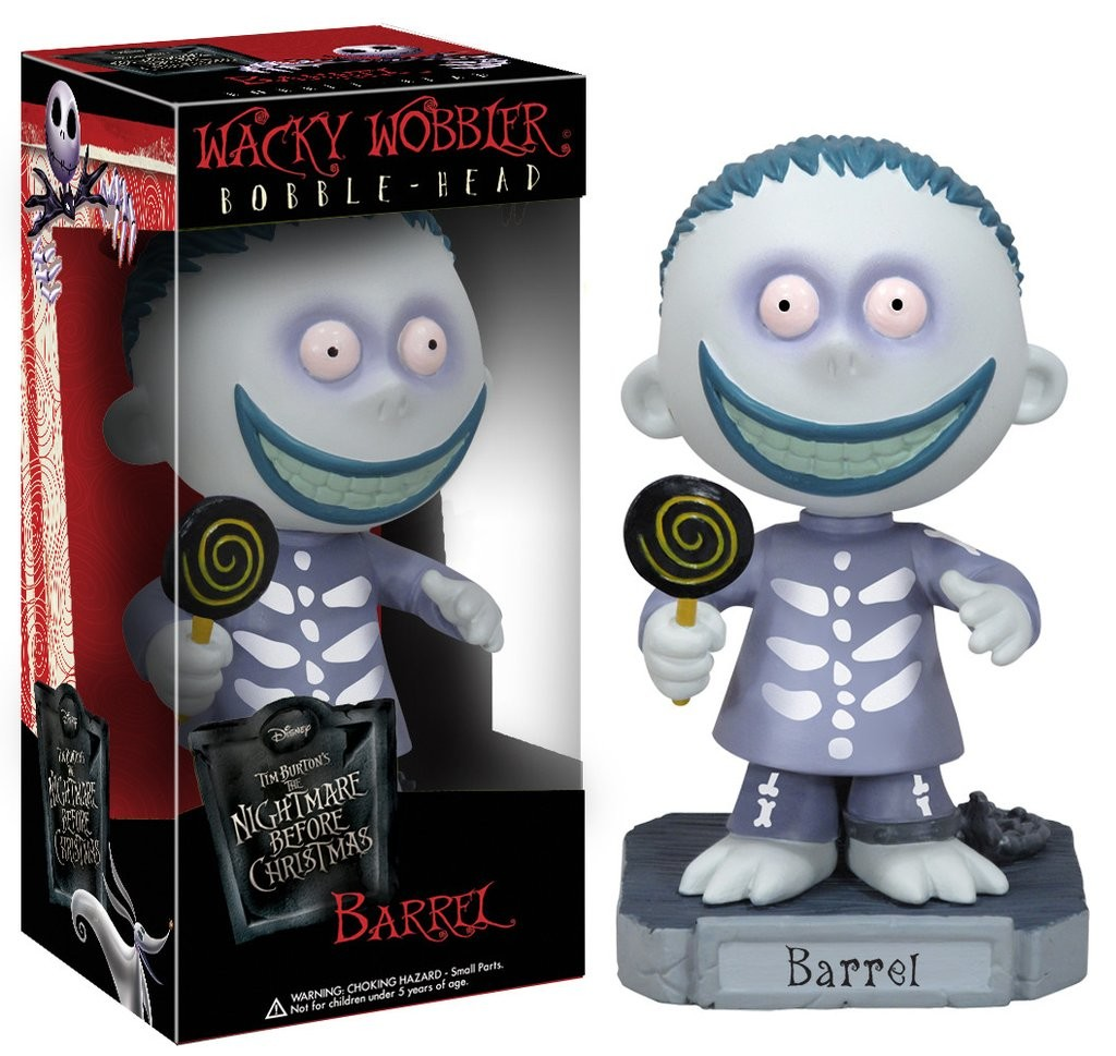 The Nightmare Before Christmas - Barrel - Wacky Wobbler Disney ...