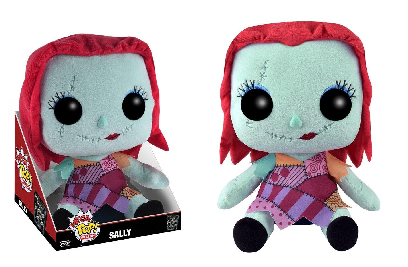 The Nightmare Before Christmas - Mega Sally - POP! Plush action ...
