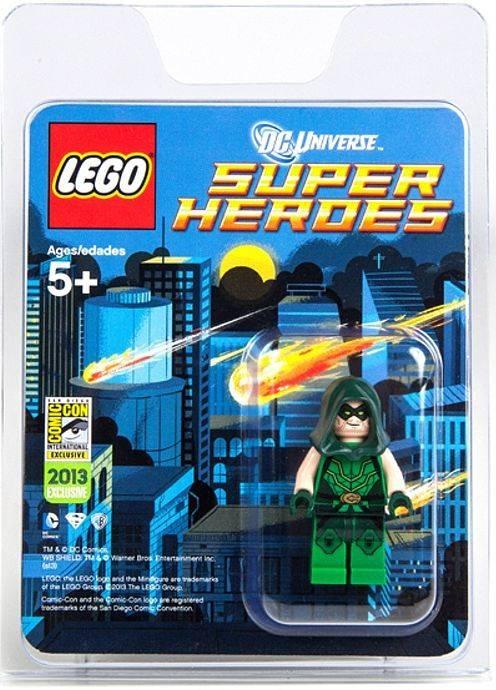 Custom Dc Comics Minifigure  Bizzaro Exclusive Sdcc 2012 Super Heroes