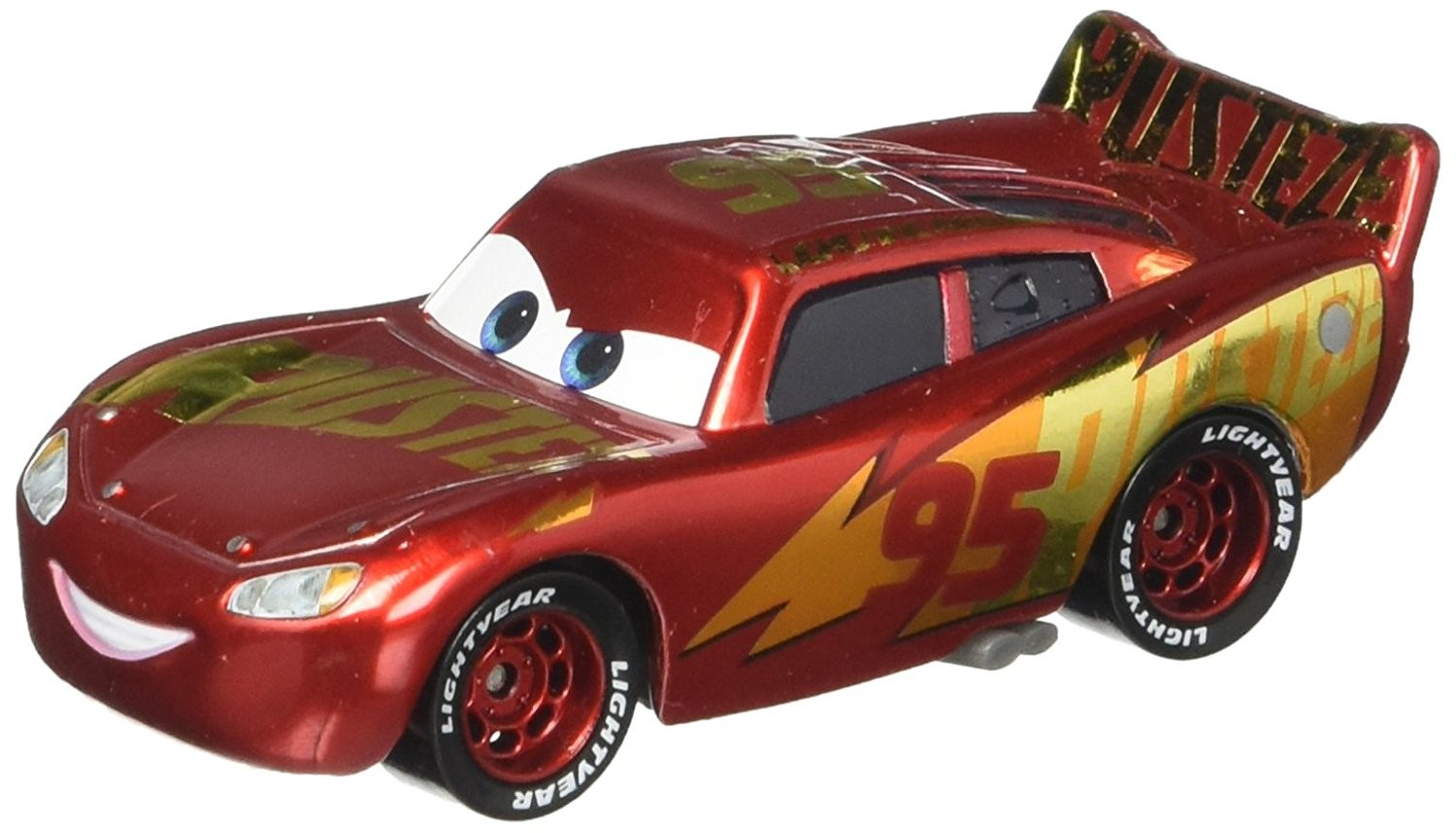 Rust Eze Racing Center Lightning Mcqueen Cars 3 Models Dxv45