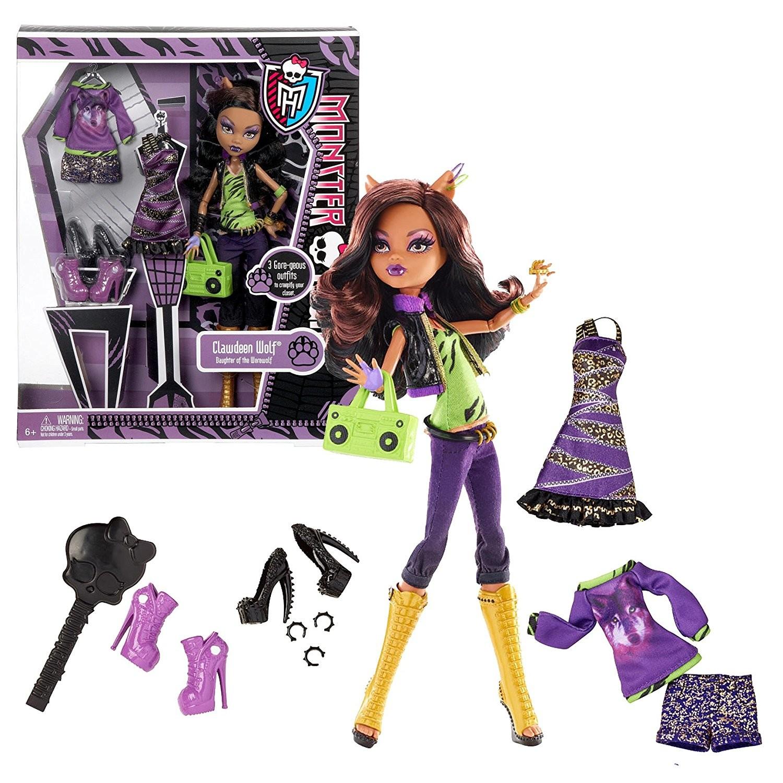Clawdeen Wolf I Love Fashion Monster High Dolls