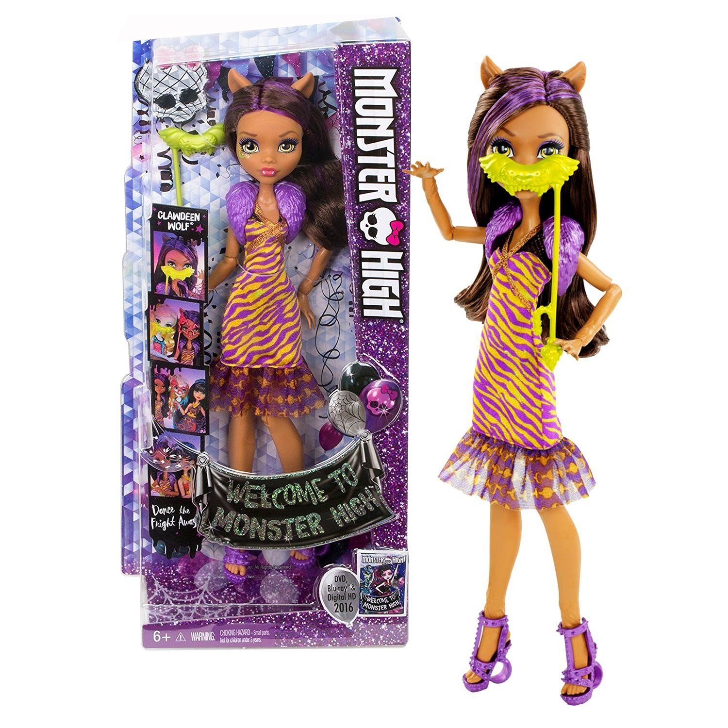 Clawdeen Wolf Welcome To Monster High Monster High Dolls