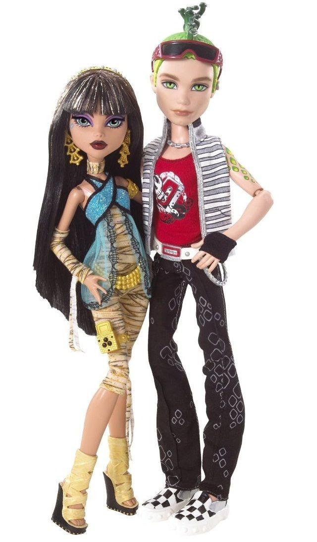 cleo de nile deuce gorgon basic monster high dolls