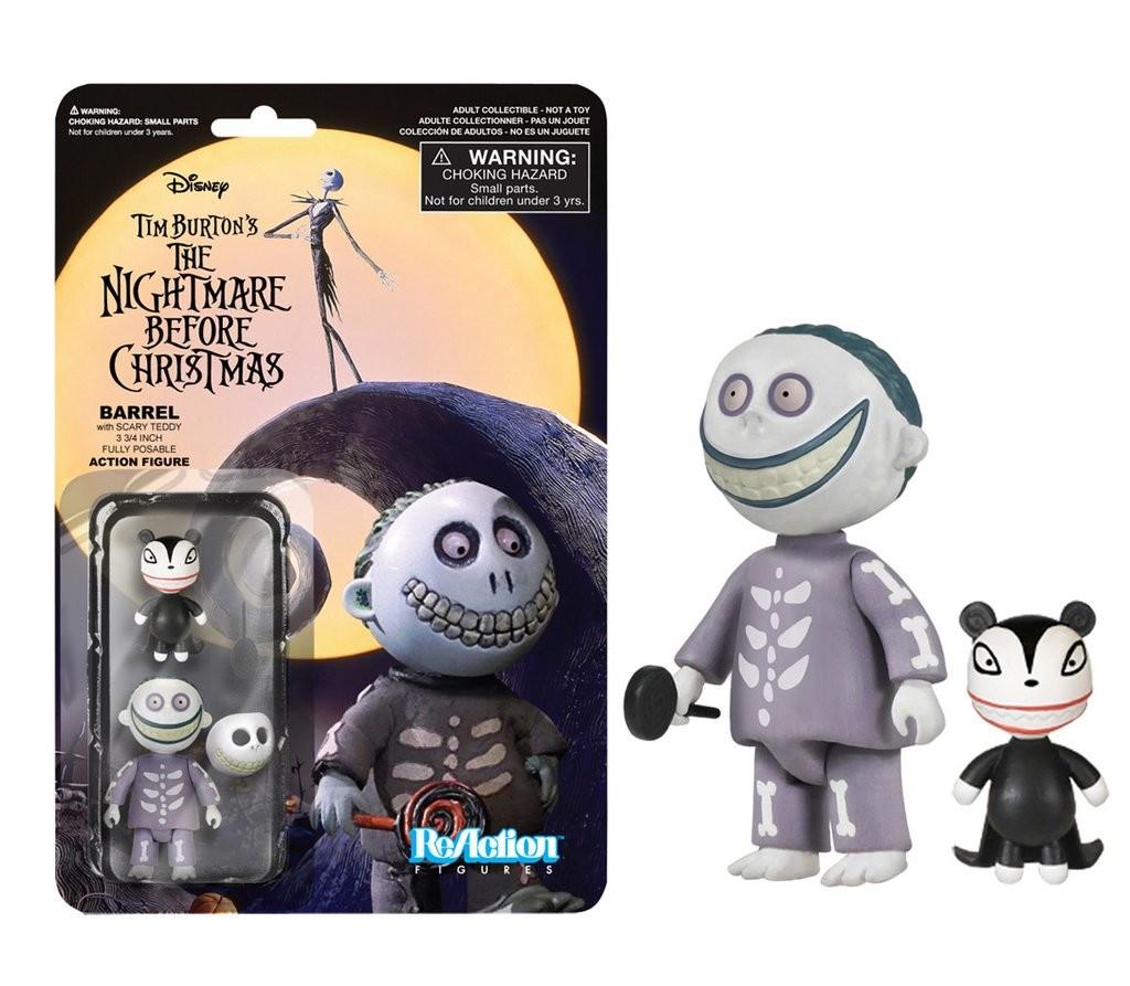 nightmare before christmas barrel funko reaction figures - Nightmare Before Christmas Action Figures